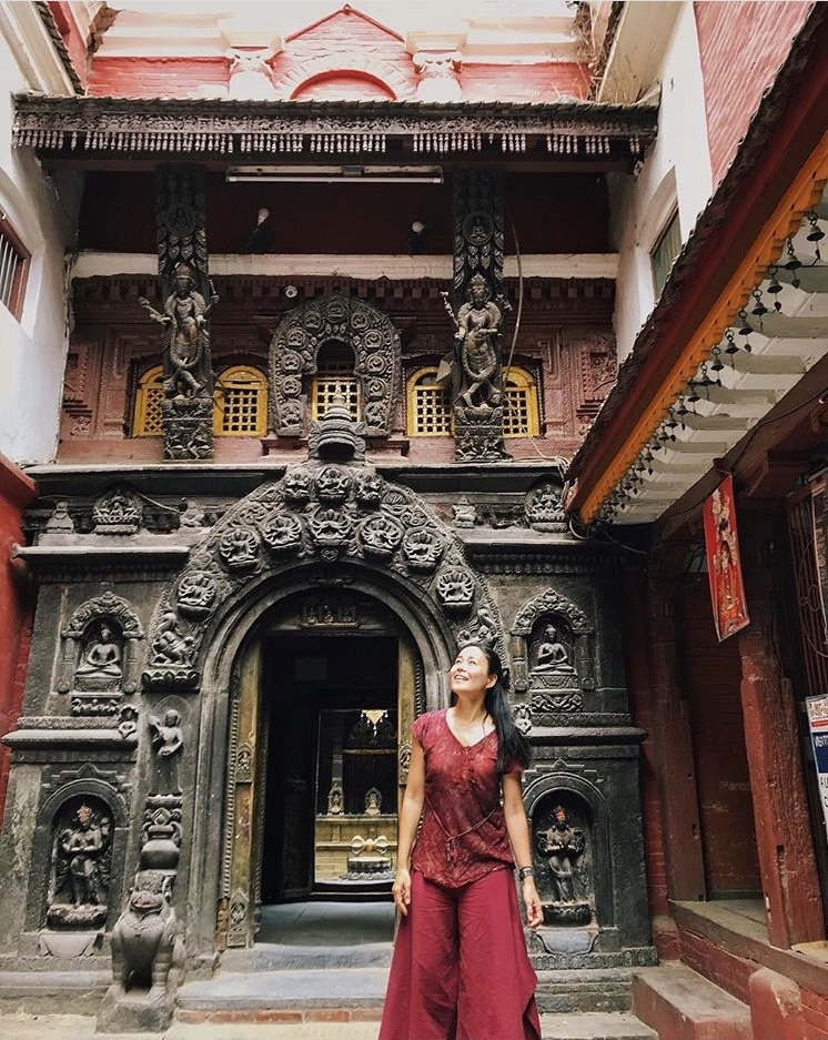 nepal campaign solo travel instagrammer