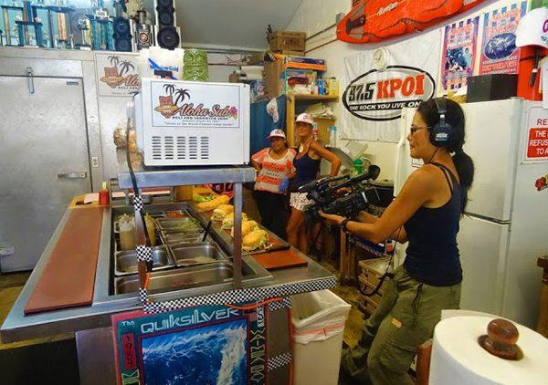 Christine Kaaloa camera operator field producer
